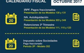 calendario fiscal octubre 2017