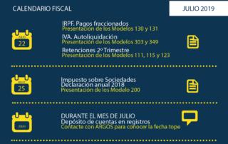 calendario fiscal julio 2019 argos